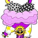 Non-Binary Clown by gm-w