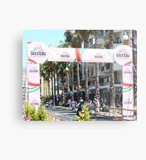 Giro d'Italia Arrival Metal Print