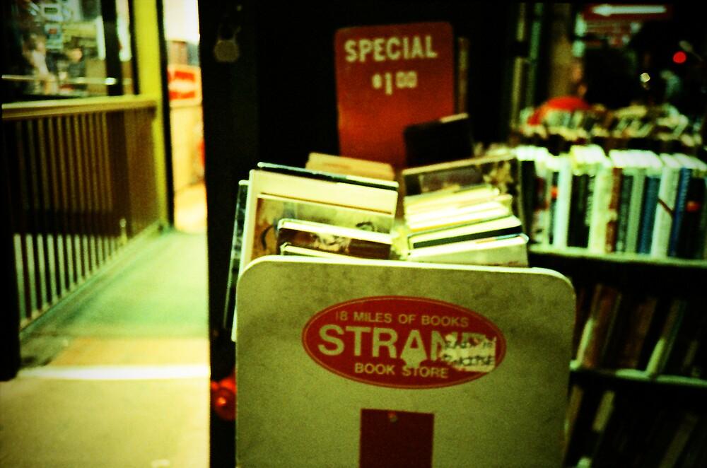 Strand Bookstore by Christine Casano