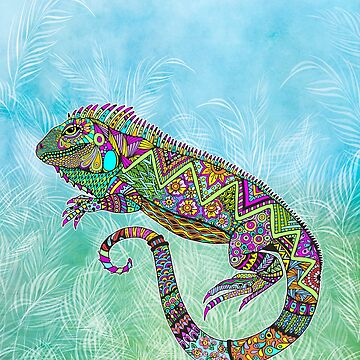 Electric Iguana by TammyWetzel