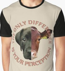 The Only Difference is Your Perception Graphic T-Shirt