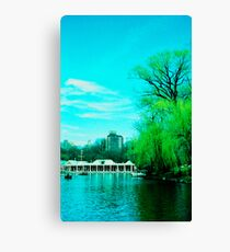 The Boathouse Canvas Print