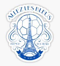 French Football 2018 Allez les Bleus  Sticker