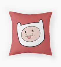 Finn The Human Adventure Time Throw Pillow