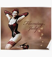Flaming July Poster