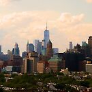 """Brooklyn To Manhattan"" by elombowmanart"