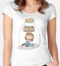 Introvert Jar Women's Fitted Scoop T-Shirt
