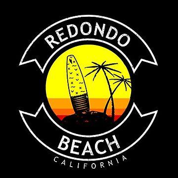 Redondo Beach California Surf  by styleuniversal