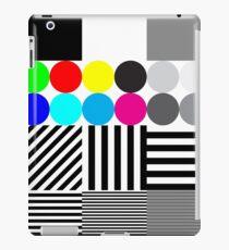 Extremes Tontestmuster mit Farbe iPad-Hülle & Klebefolie