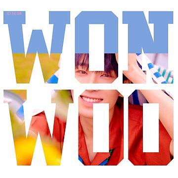 SEVENTEEN Wonwoo by nurfzr