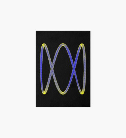 ABC Logo  Art Board Print