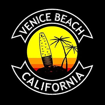 Venice Beach California Surf  by styleuniversal