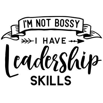 I have leadership skills by caddystar