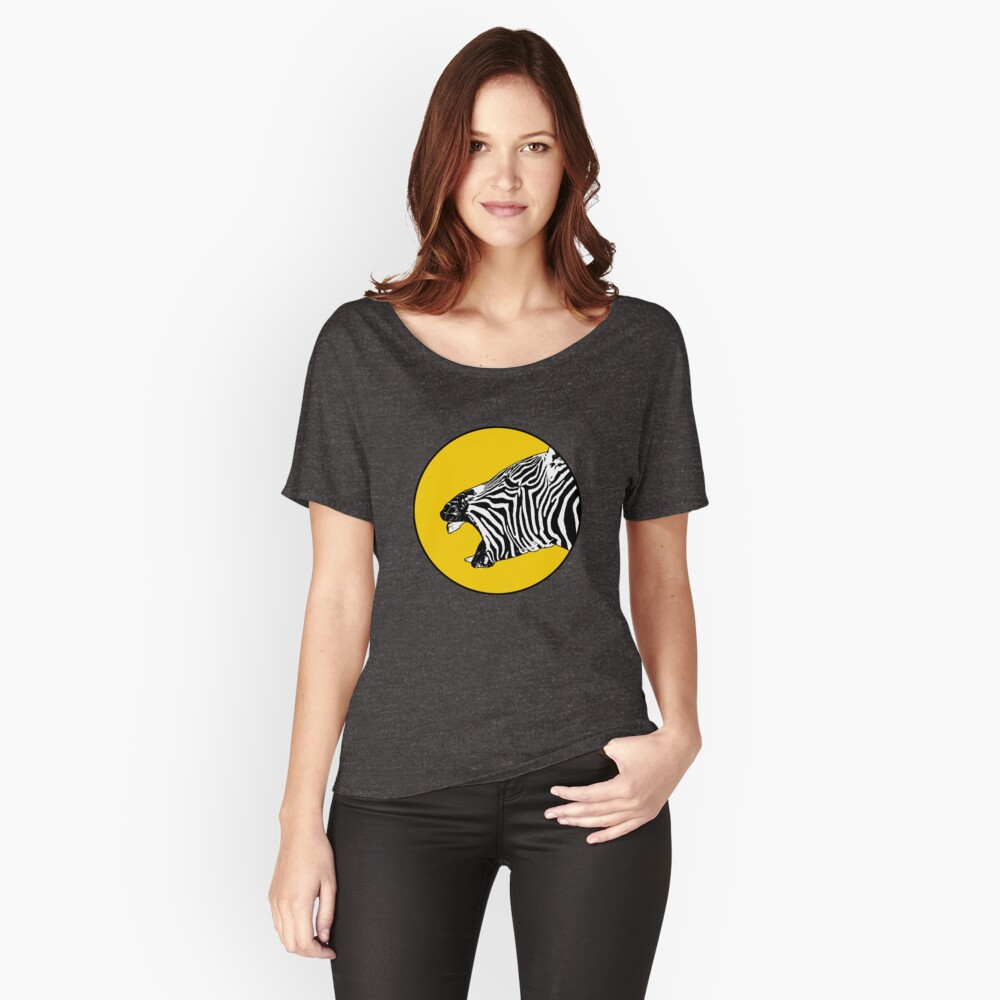 Laughing zebra Women's Relaxed Fit T-Shirt Front