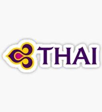 Thai Airways Logo Sticker