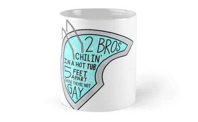 Youre My World Bro Mugs By Sabrina Sanchez Redbubble