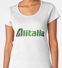 Alitalia Logo Women's Premium T-Shirt