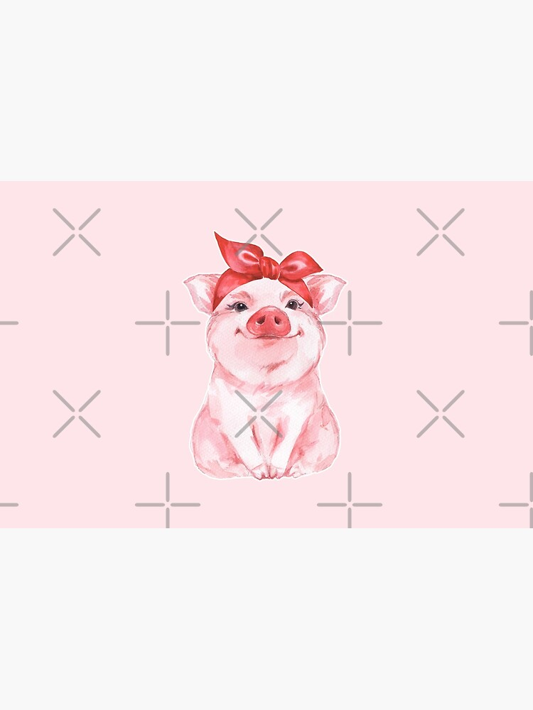 Piggy in red by Gribanessa