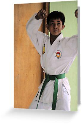 Karate Kid by JonathaninBali