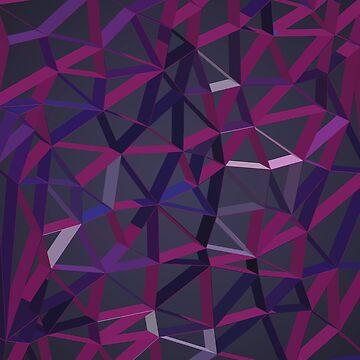 3D Futuristic GEO Lines XV by tamaya111