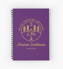 Pawnee Goddesses Spiral Notebook
