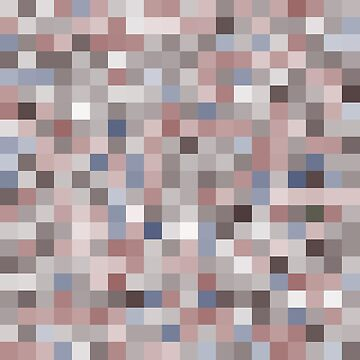 pixels seamless pattern with colorful squares Brown and gray.  by EkaterinaP