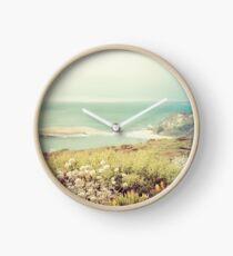 Côte du Pacifique en Californie Horloge
