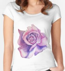 Blue Moon Rose Women's Fitted Scoop T-Shirt
