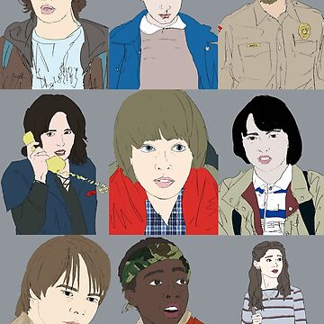 Stranger Things by kaillustration