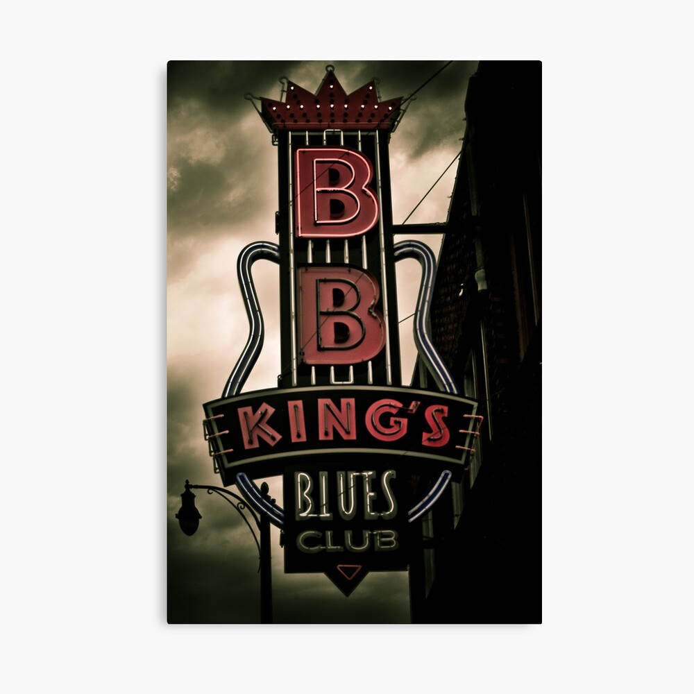 BBKing's Canvas Print