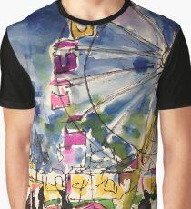 Ferris Wheel Graphic T-Shirt