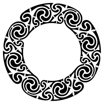 Celtic Circle - Black. by timothybeighton