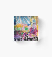 Carnival Stalls Acrylic Block