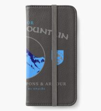 Longbeards Weapons & Armour : Erebor Lonely Mountain iPhone Wallet/Case/Skin
