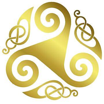 Celtic Three - Golden! by timothybeighton