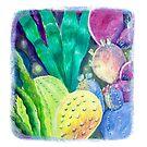 Cacti colors by nancy salamouny