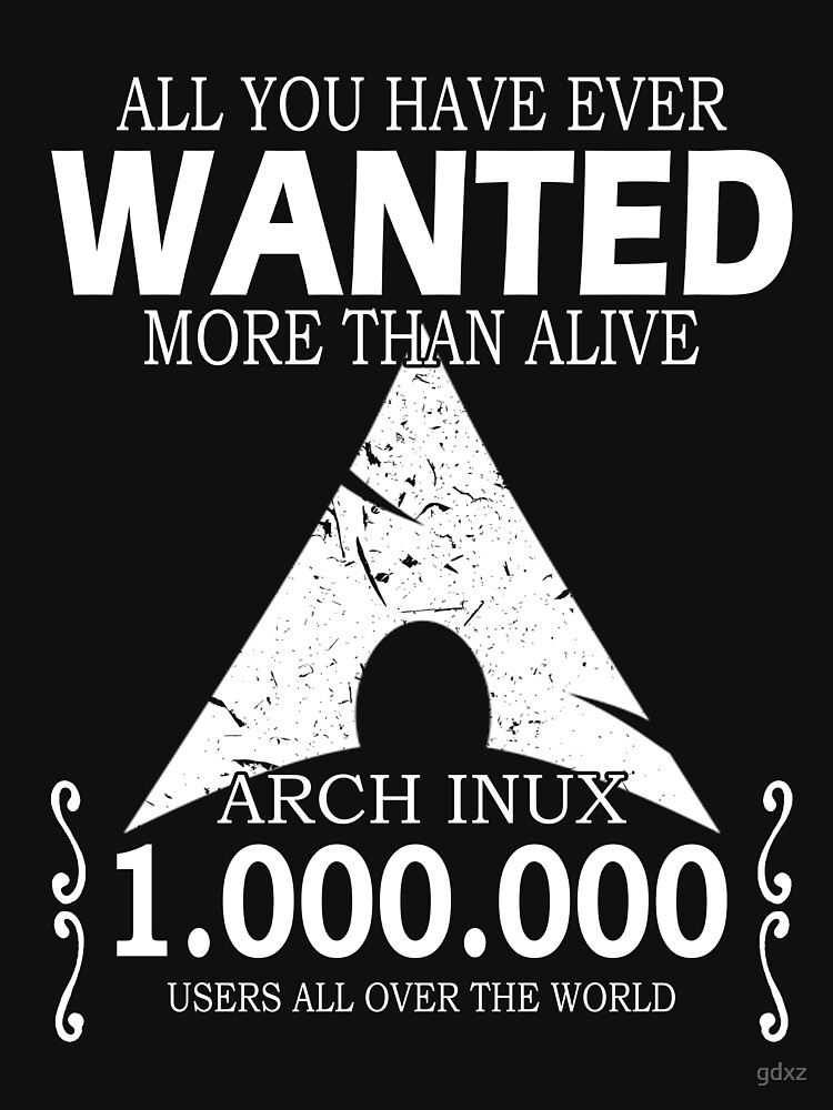 Arch Linux Most Wanted AUR  by gdxz