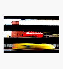 Bogota Taxi Photographic Print