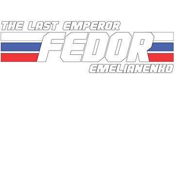 Fedor Emelianenko Icon by garytms