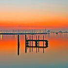 St Kilda sunset by RichardIsik