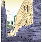 Khiva Street, Uzbekistan by David  Kennett