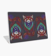 Red Panda Totem Laptop Skin