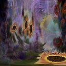 A Galaxy of Sunflowers by Wayne King