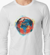 FIFA 2018 world cup Russia soccer ball Long Sleeve T-Shirt