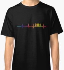 2001 Heartbeat LGBT Pride Classic T-Shirt