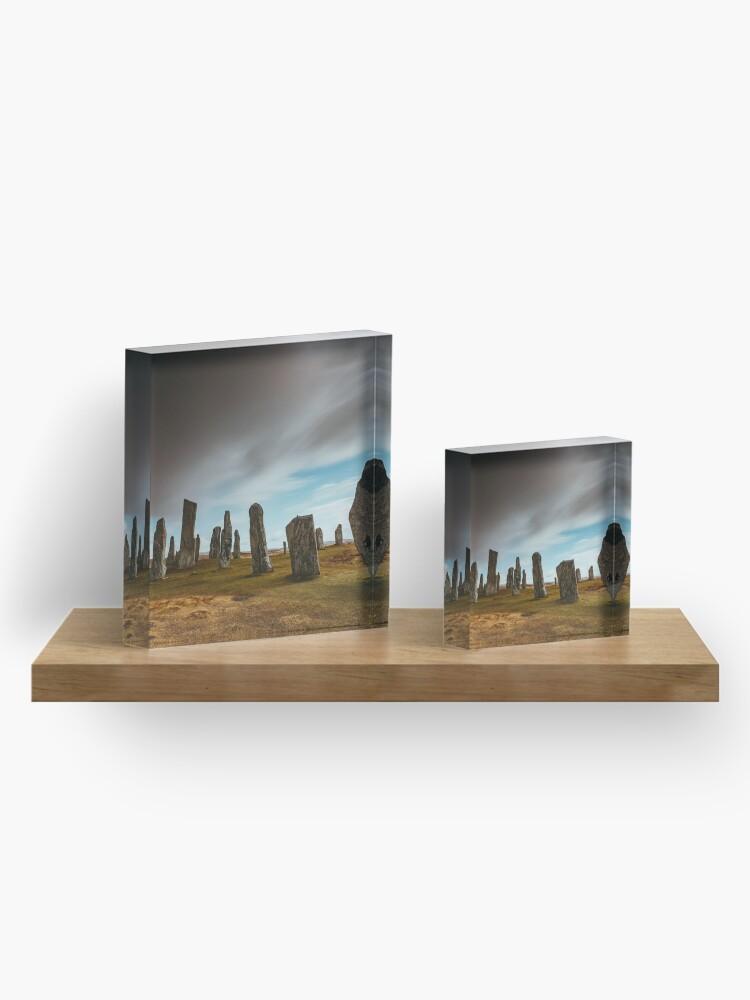 Bloc acrylique ''Callanish Stones': autre vue