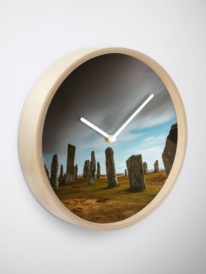 Horloge ''Callanish Stones': autre vue