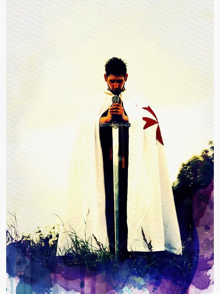 The Lone Crusader - Knights Templar | Spiral Notebook
