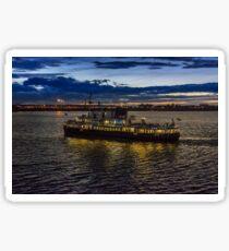 Royal Iris Mersey Ferry at twilight Sticker