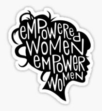ermächtigte Frauen Sticker